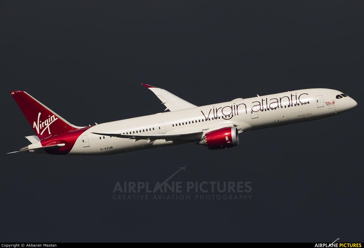 Virgin Atlantic G-VYUM aircraft at London - Heathrow