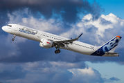 D-AVXB - Airbus Industrie Airbus A321 NEO aircraft
