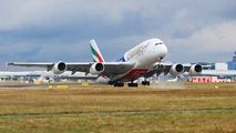 A6-EON - Emirates Airlines Airbus A380 aircraft