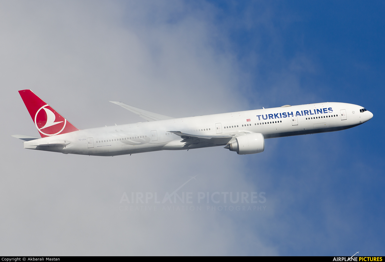Turkish Airlines TC-LKA aircraft at London - Heathrow
