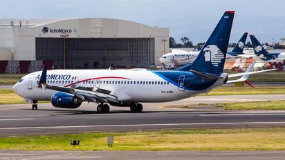 XA-AMN - Aeromexico Boeing 737-800