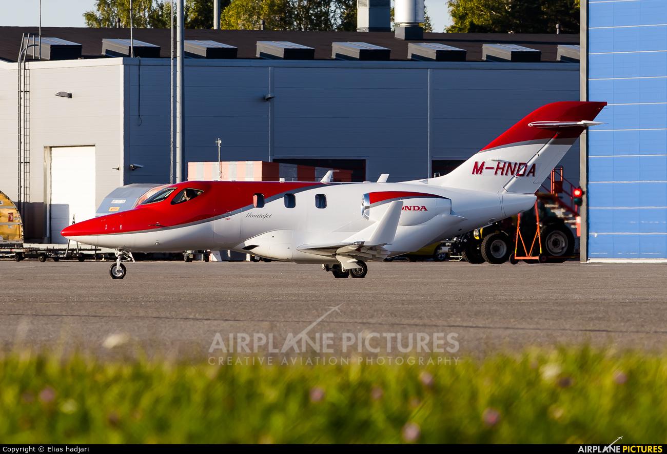 Honda Aerospace M-HNDA aircraft at Helsinki - Vantaa