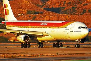 EC-GUP - Iberia Airbus A340-300