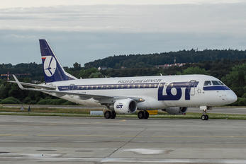 SP-LIM - LOT - Polish Airlines Embraer ERJ-175 (170-200)