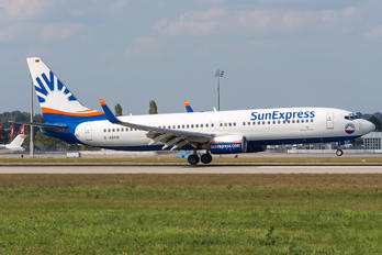 D-ASXH - SunExpress Germany Boeing 737-800