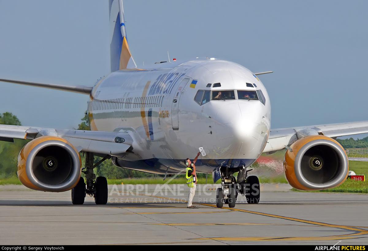 Azur Air Ukraine UR-UTP aircraft at Sknilov