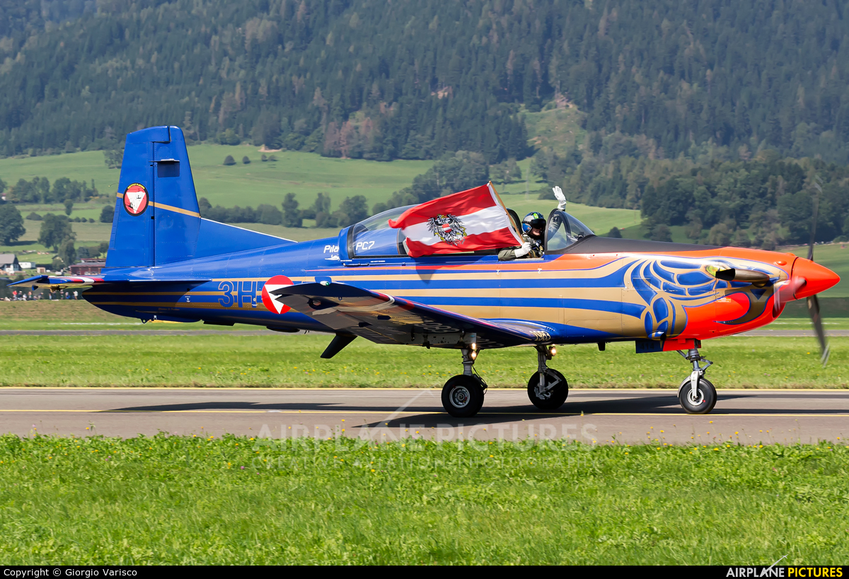 Austria - Air Force 3H-FC aircraft at Zeltweg
