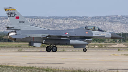 89-0024 - Turkey - Air Force General Dynamics F-16C Fighting Falcon