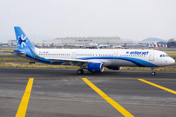 XA-JPB - Interjet Airbus A321