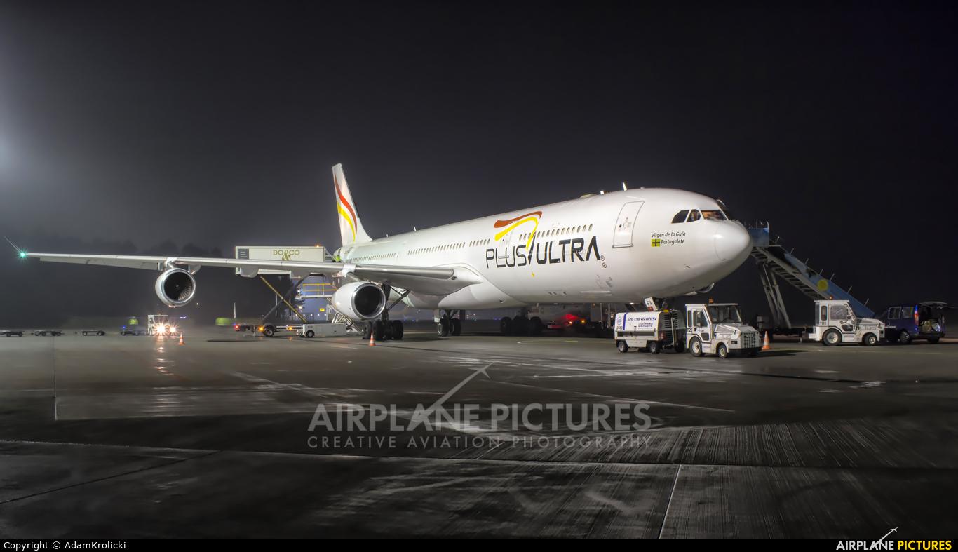 Plus Ultra EC-MFA aircraft at Katowice - Pyrzowice