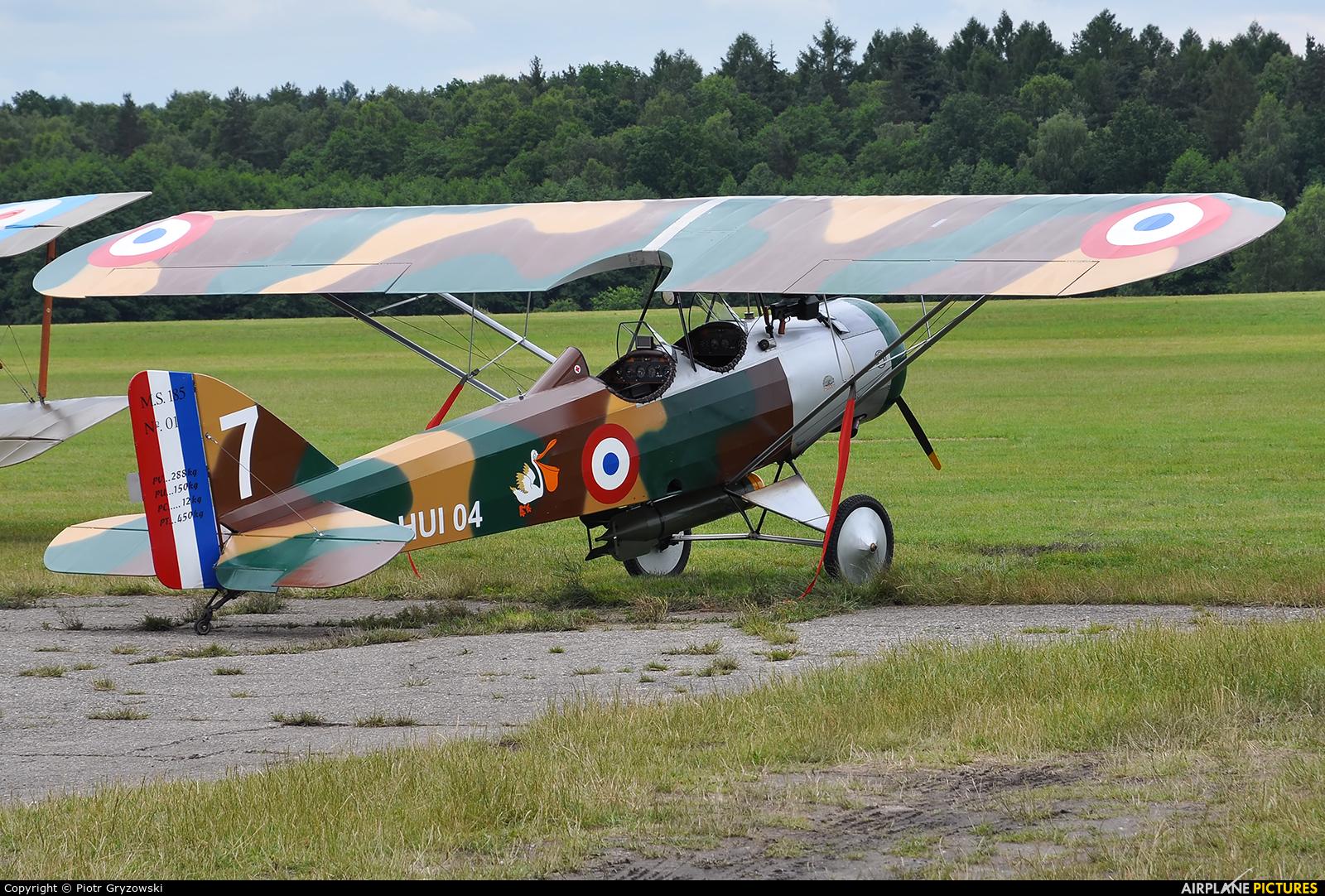 Private OK HUI04 aircraft at Rybnik - Gotartowice