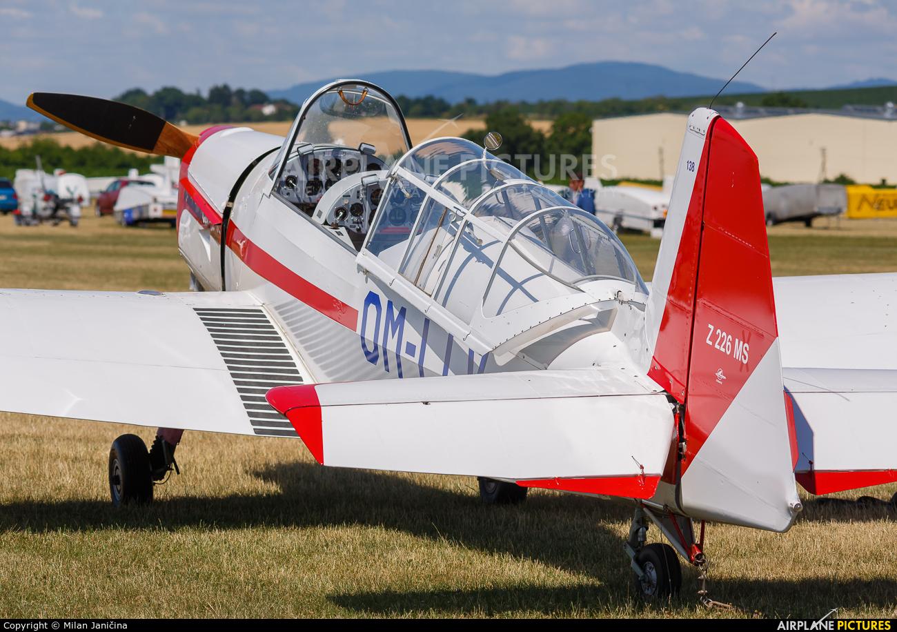 Aeroklub Trnava OM-LLV aircraft at Partizanske