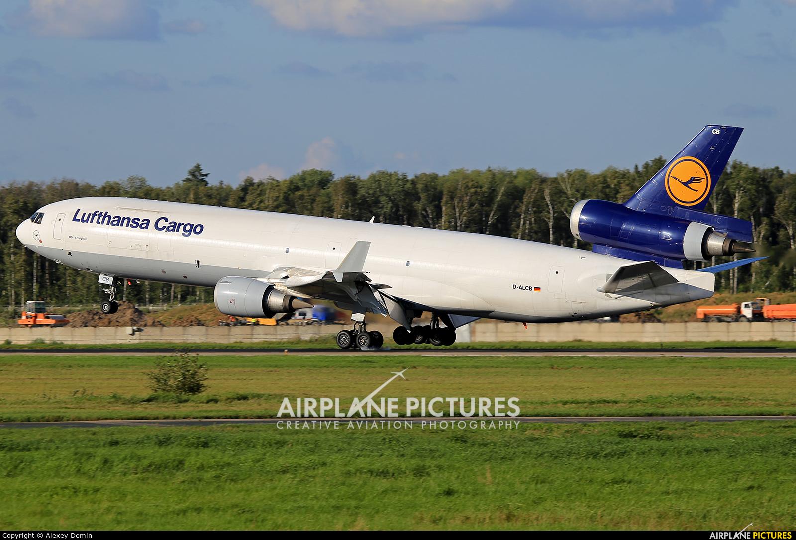 Lufthansa Cargo D-ALCB aircraft at Moscow - Domodedovo