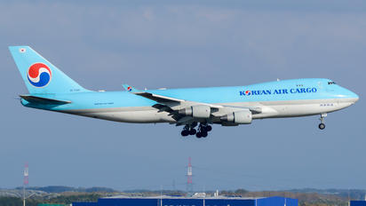 HL7449 - Korean Air Cargo Boeing 747-400F, ERF