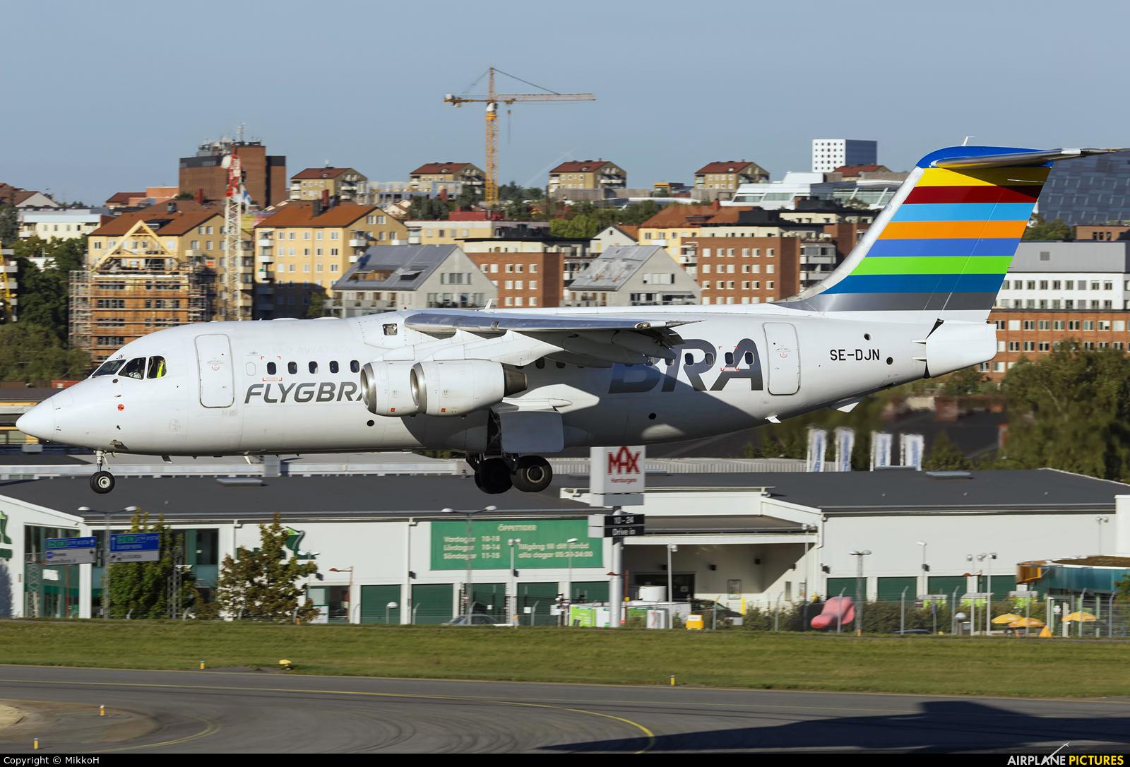 BRA (Sweden) SE-DJN aircraft at Stockholm - Bromma