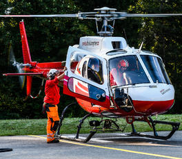 HB-ZNH - Swiss Helicopter Eurocopter AS350 Ecureuil / Squirrel