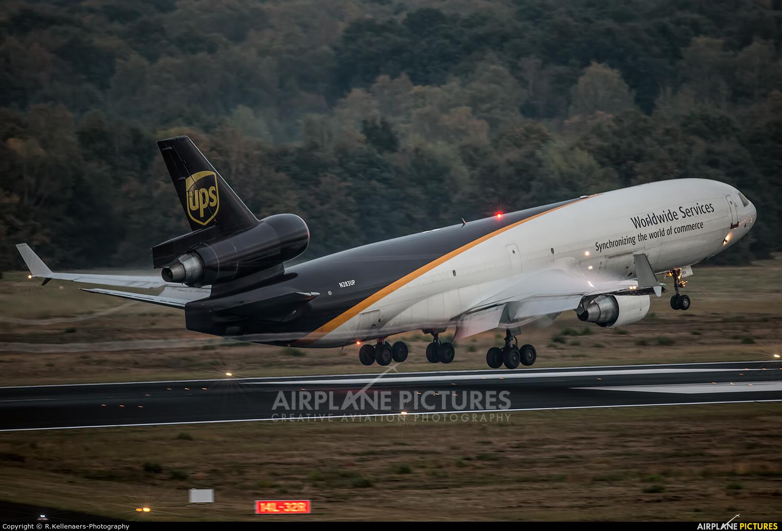 UPS - United Parcel Service N283UP aircraft at Cologne Bonn - Konrad Adenauer