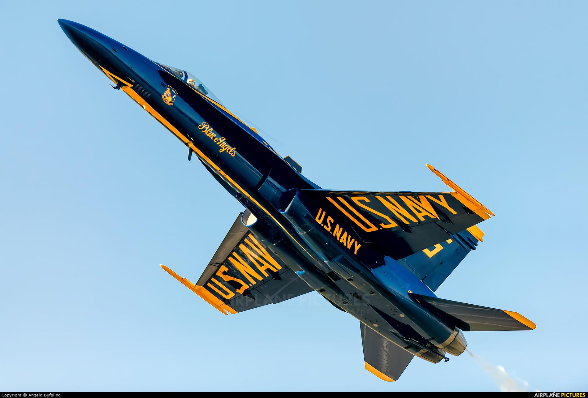 USA - Navy : Blue Angels 163484 aircraft at Millington Regional Jetport