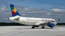 LY-SPF - Small Planet Airlines Airbus A320 aircraft