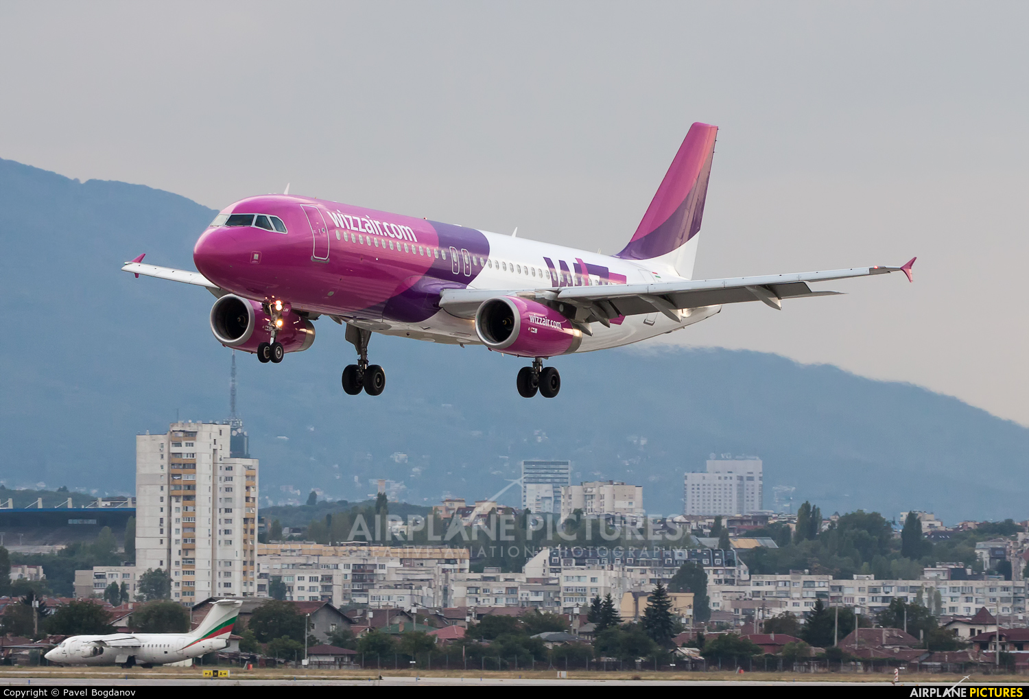 Wizz Air HA-LWN aircraft at Sofia