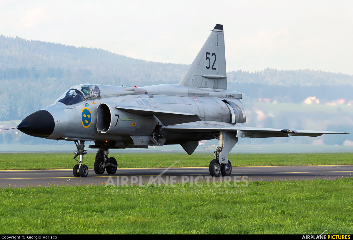 Swedish Air Force Historic Flight SE-DXN aircraft at Zeltweg