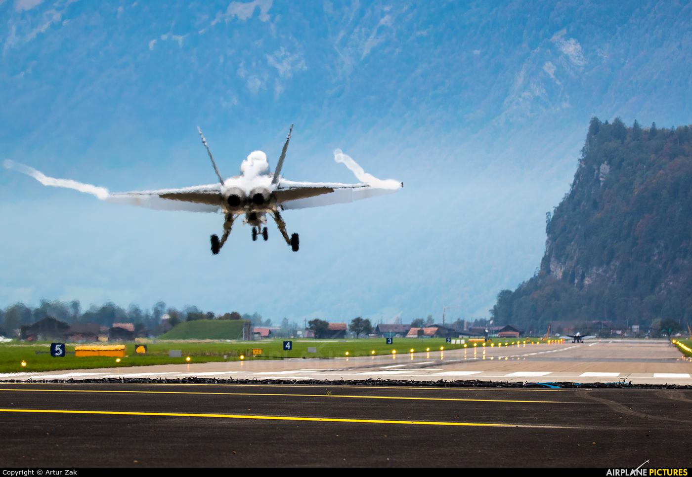 Switzerland - Air Force - aircraft at Meiringen