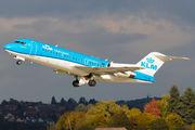 PH-KZD - KLM Cityhopper Fokker 70 aircraft
