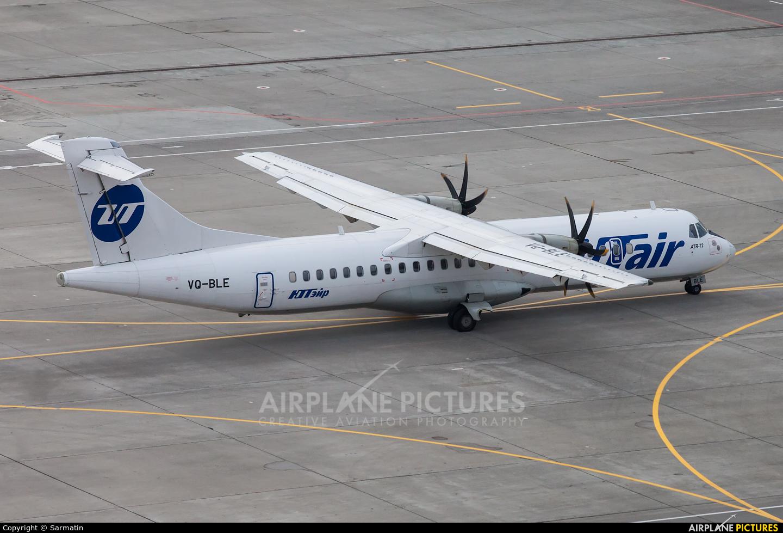 UTair VQ-BLE aircraft at Kazan