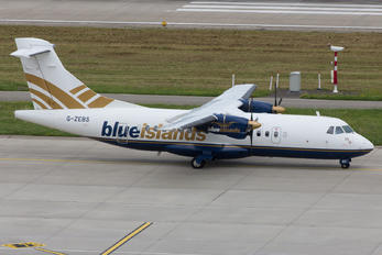 G-ZEBS - Blue Islands ATR 42 (all models)