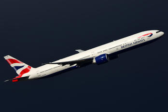 G-STBI - British Airways Boeing 777-300ER