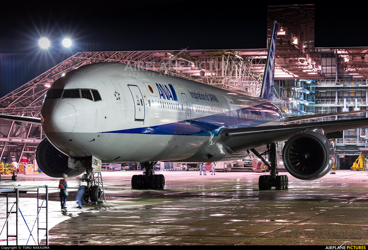 ANA - All Nippon Airways JA751A aircraft at Osaka - Itami Intl