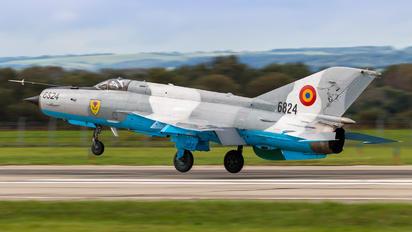 6824 - Romania - Air Force Mikoyan-Gurevich MiG-21 LanceR C