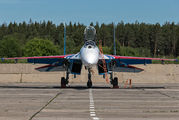 "03 - Russia - Air Force ""Russian Knights"" Sukhoi Su-27P aircraft"