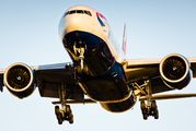 G-VIIL - British Airways Boeing 777-200 aircraft