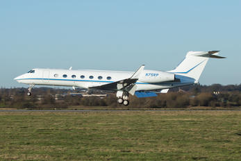N75RP - Private Gulfstream Aerospace G-V, G-V-SP, G500, G550