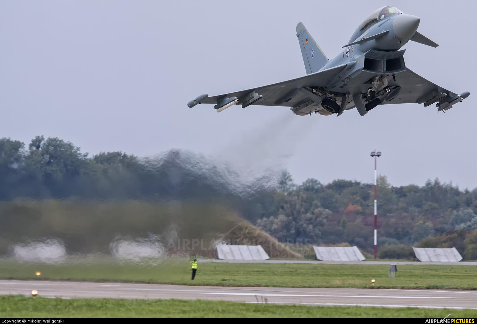 Germany - Air Force 31+13 aircraft at Malbork