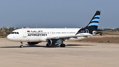 5A-ONA - Afriqiyah Airways Airbus A320