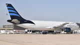 Afriqiyah Airways Airbus A300 5A-ONS at Misrata airport