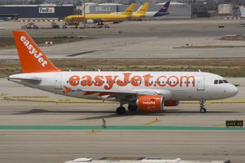 HB-JYI - easyJet Switzerland Airbus A319