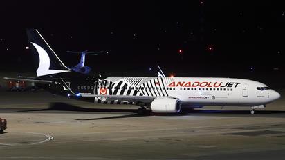 TC-JGF - AnadoluJet Boeing 737-800