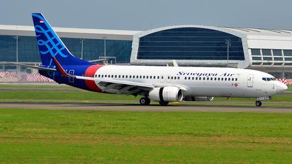 PK-CLT - Sriwajaya Air Boeing 737-800 BBJ