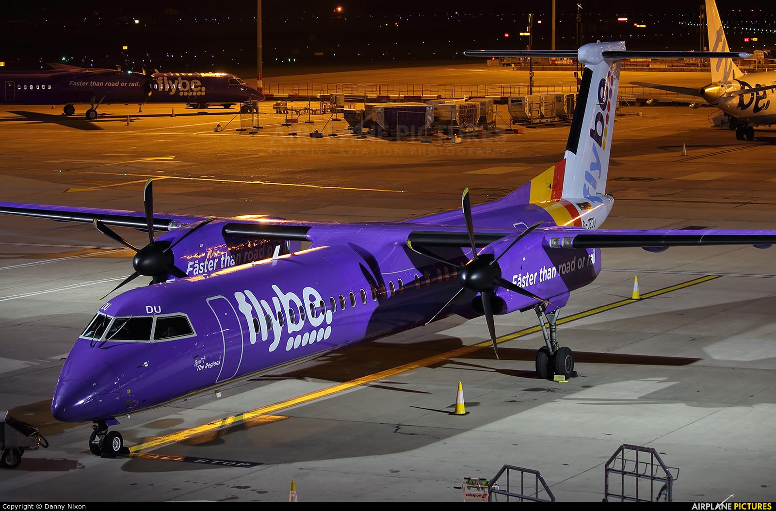 Flybe G-JEDU aircraft at Birmingham