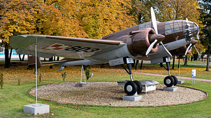 803N - Poland - Air Force PZL P-37B Łoś