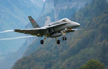 J-5005 - Switzerland - Air Force McDonnell Douglas F/A-18C Hornet