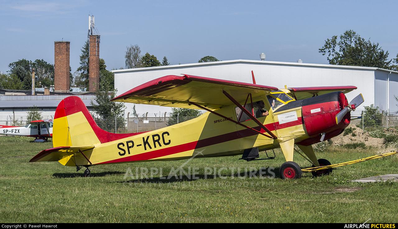 Aeroklub Rzeszowski SP-KRC aircraft at Krosno