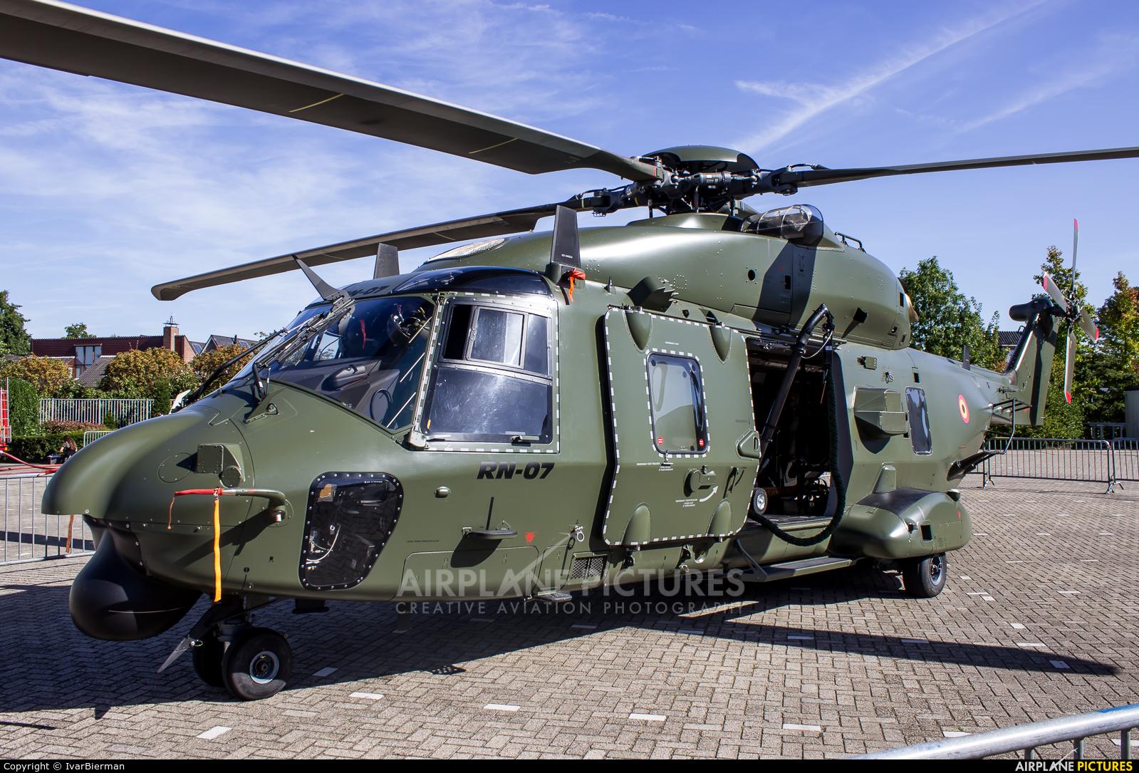 Belgium - Air Force RN-07 aircraft at Off Airport - Netherlands