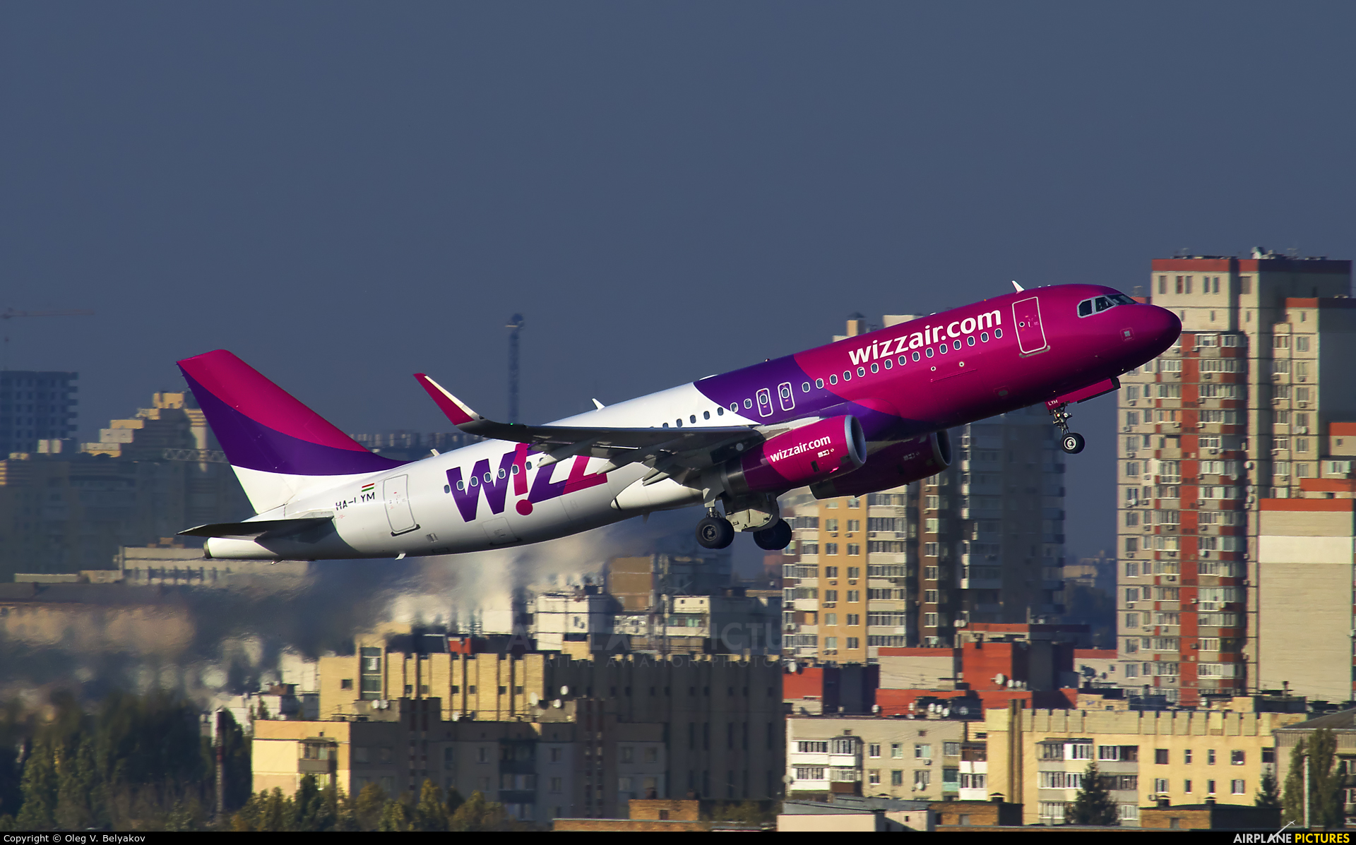 Wizz Air HA-LYM aircraft at Kyiv - Zhulyany