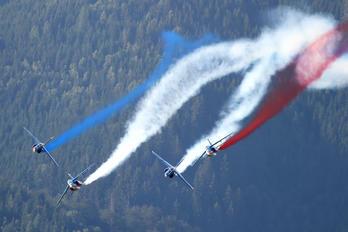 """E45 - France - Air Force """"Patrouille de France"""" Dassault - Dornier Alpha Jet E"""