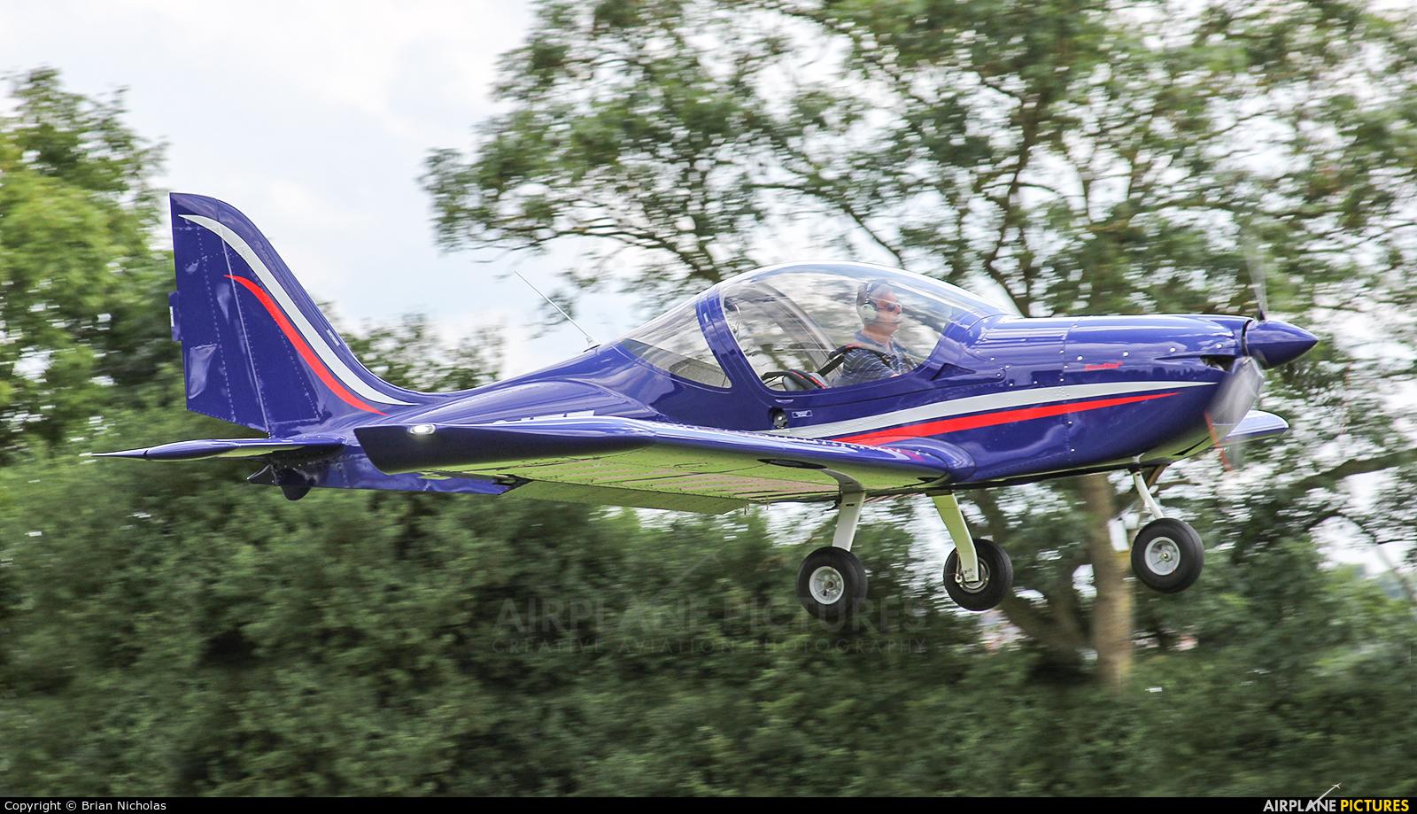 Private G-CITF aircraft at Stoke Golding