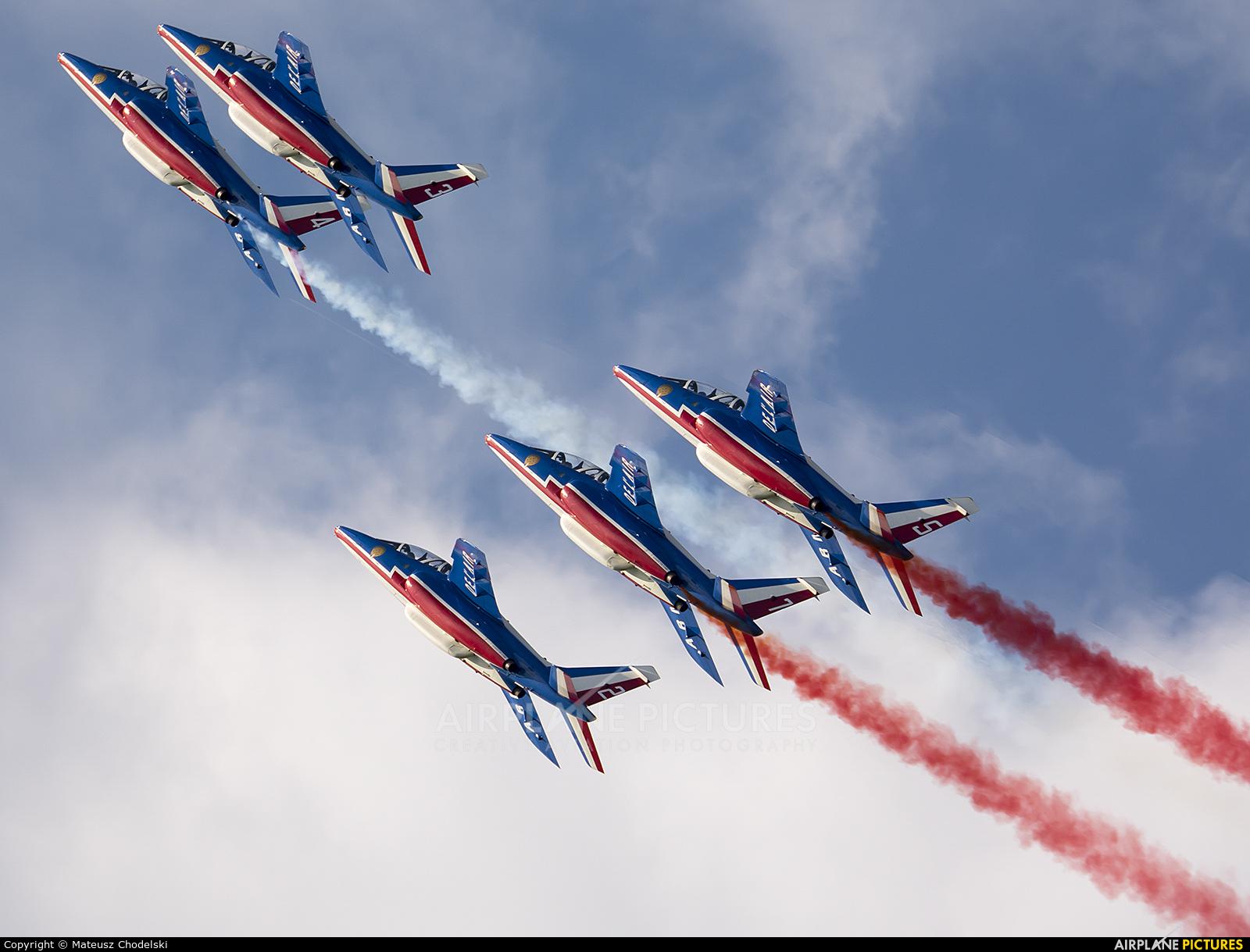 "France - Air Force ""Patrouille de France"" E31 aircraft at Zeltweg"